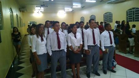 Jovens a serem admitidos